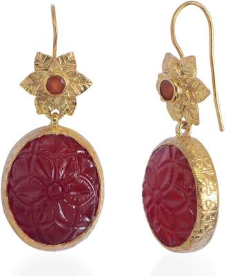 Bodhi Emma Chapman Jewels Carnelian Earrings