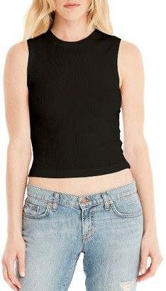 Women's Michael Stars Crop Tank $64 thestylecure.com