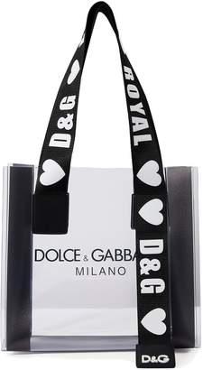 Dolce & Gabbana PVC tote bag