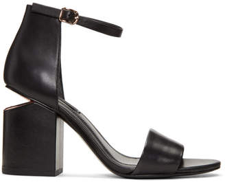 Alexander Wang Black Abby Sandals