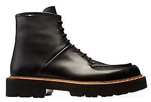 Bally Men's Lybern Leather Combat Boots