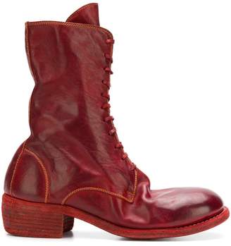Guidi front lace boots