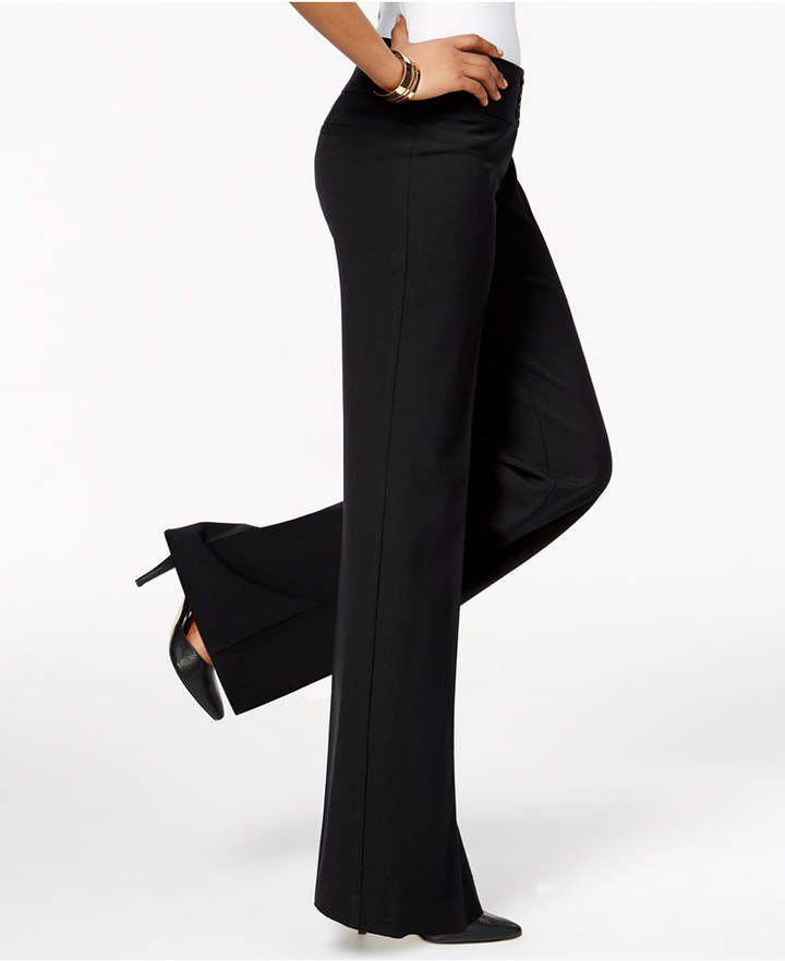 Style & Co Stretch Wide-Leg Pants, Only at Macy's