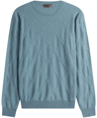 Etro Wool Diamond Patterned Pullover
