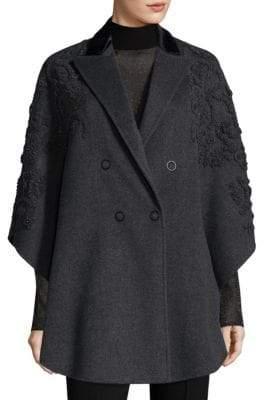 Elie Tahari Elsy Wool Coat