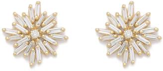Suzanne Kalan Diamond Firework Stud Earrings