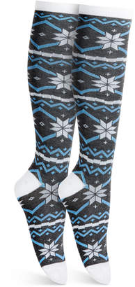 Charter Club Nordic Stripe Knee-High Socks