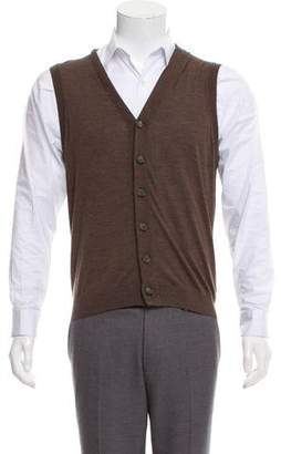 Brunello Cucinelli Wool Blend Sweater Vest