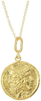 Ottoman Hands Janus Gold Coin Pendant