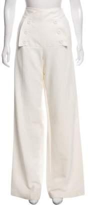 Derek Lam High-Rise Wide-Leg Pants w/ Tags