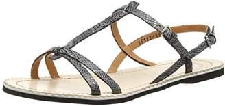Ca Shott Ca'shott Women's 15112 Open Toe Sandals Silver Size: 6