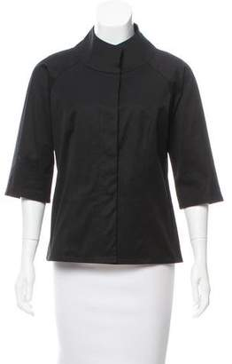 Yeohlee Stand Collar Three-Quarter Sleeve Jacket
