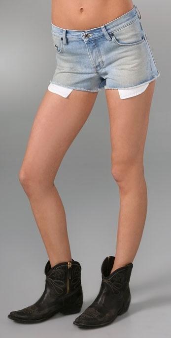 Ksubi Clam Mini Shorts