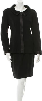 Chanel Wool Skirt Suit $395 thestylecure.com