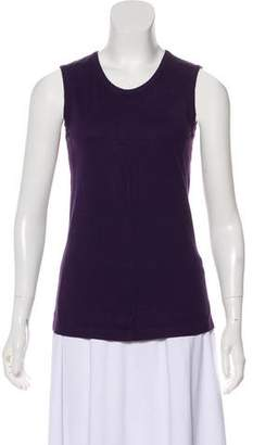 Ann Demeulemeester Sleeveless Crew Neck Top