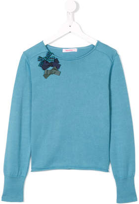 Familiar jumper with bow detail