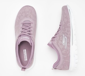 Skechers Go Walk Gored-Lace Sneakers - Destiny