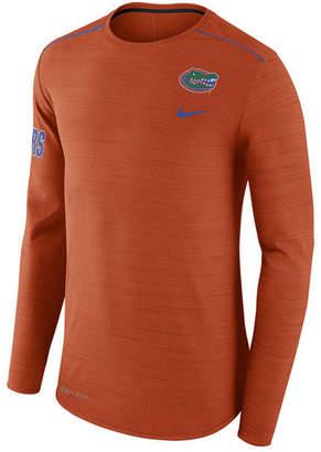 Nike Men's Florida Gators Dri-Fit Breathe Long Sleeve T-Shirt