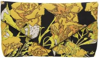 Floral Textured Clutch