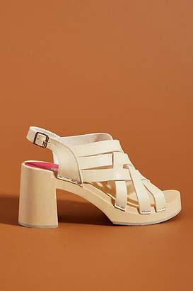 Swedish Hasbeens Vivi Caged Clog Sandals