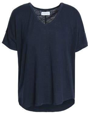 Velvet by Graham & Spencer Sutton Slub Linen-Blend Jersey T-Shirt