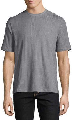 Claiborne Ss Drop Needle Short Sleeve Crew Neck T-Shirt