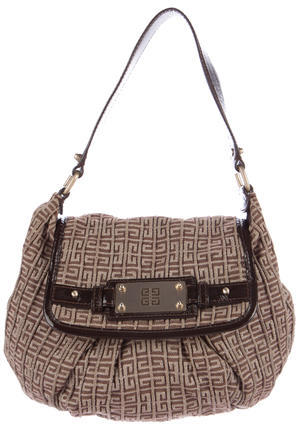 Givenchy Givenchy Monogram Canvas Hobo