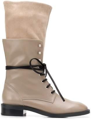 307f062b3f9 Stuart Weitzman Lace Up Boot - ShopStyle