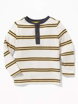 Old Navy Striped Henley for Toddler Boys