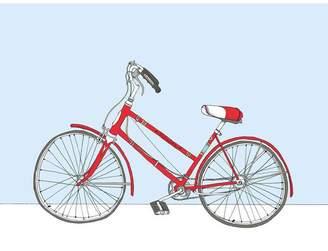 Sloe Gin Fizz Red Schwinn Bicycle Print