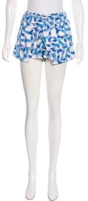 Wayne Silk Mini Shorts