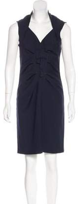 Magaschoni Knee-Length Wool Dress