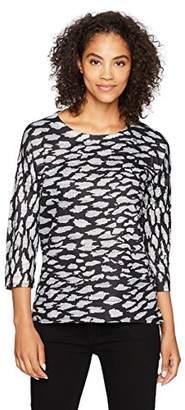 Tribal Women's 3/4 Sleeve Scoopneck Top