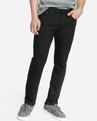 Express Slim Black Stretch Jeans