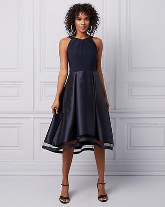 Le Château Satin High-Low Cocktail Dress