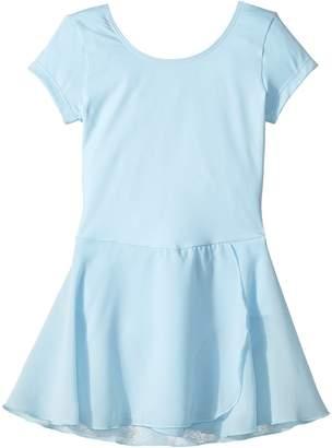 Bloch Cap Sleeve Skirted Leotard Girl's Dress