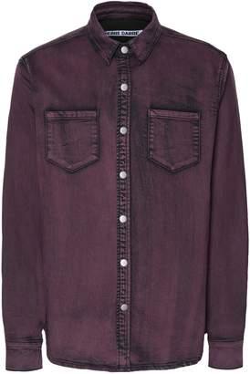 Pierre Darre' PIERRE DARRÉ Denim shirts - Item 42691513LS