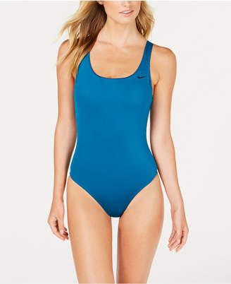 Nike U-Back Mesh-Inset One-Piece Swimsuit Women's Swimsuit