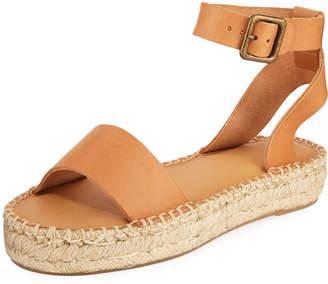 Soludos Cadiz Leather Platform Sandals