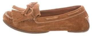Bottega Veneta Suede Moccasin Loafers