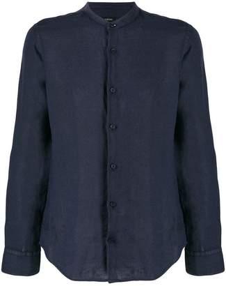 Ermenegildo Zegna collarless fitted shirt