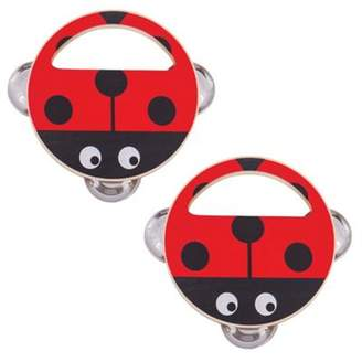Ladybird Bigjigs Toys Wooden Hand Shakers (Pack Of 2 Musical Toys