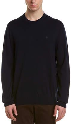 Brooks Brothers 1/4-Zip Mock Merino-Blend Sweater