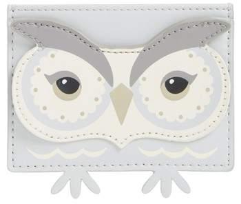 Kate Spade New York Starbright Owl Leather Card Holder
