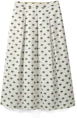 Boden Lola Floral Flared Skirt