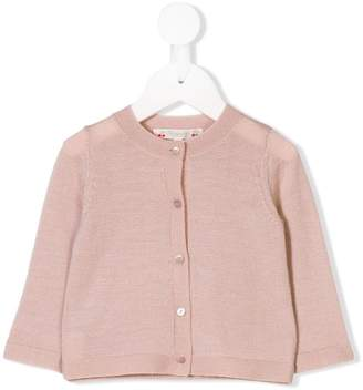Bonpoint long-sleeve buttoned cardigan