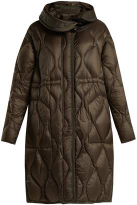 Moncler Manthus wave-quilted down-filled coat