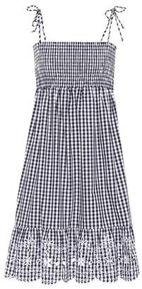 Tory Burch Convertible cotton gingham dress