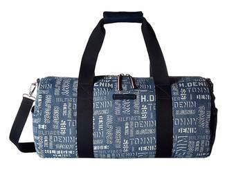 Tommy Hilfiger THD Denim-Duffel-Washed Denim Duffel Bags