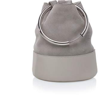 Arran Frances - Texa Pale Grey Bucket Bag